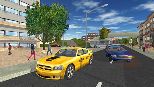 Simulation Taxi game 2 für das Smartphone
