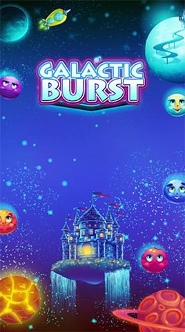 Galactic burst: Match 3 game ícone