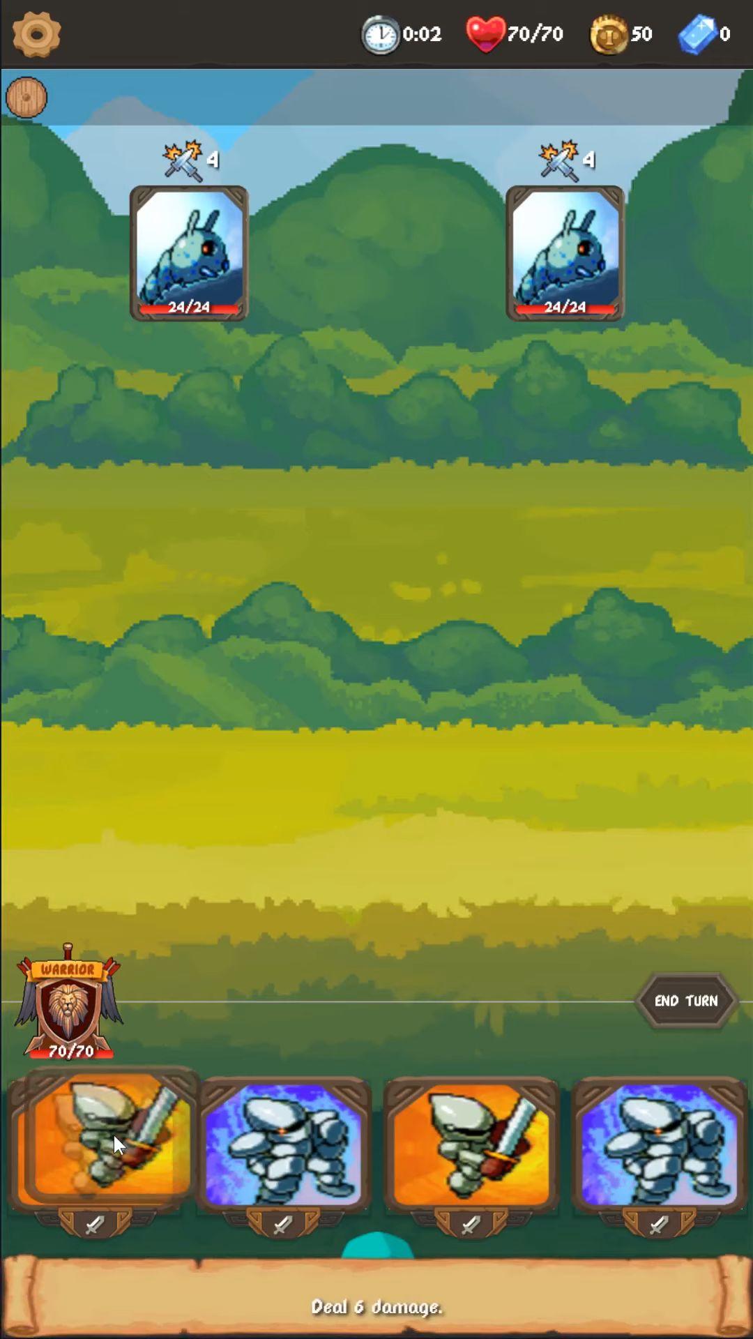Rogue Adventure: Card Battles & Deck Building RPG screenshot 1