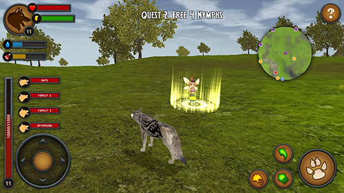 Wolves of the forest für Android