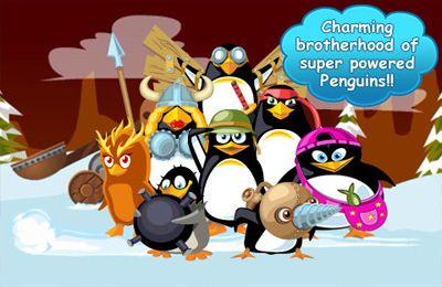 Juegos de arcade: descarga El asalto de los pingüinos locos a tu teléfono