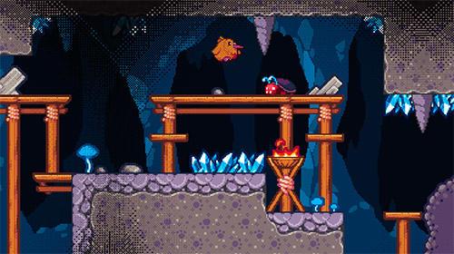 Pixelspiele Super kiwi adventure auf Deutsch