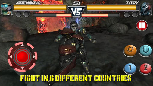 Steel: Street fighter club Screenshot