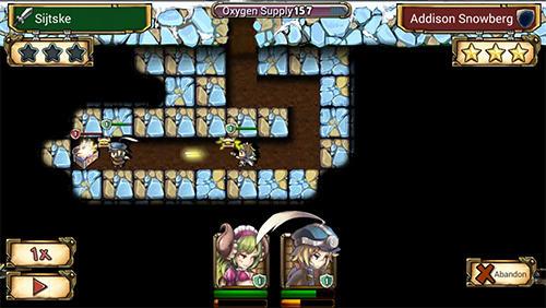 RPG-Spiele Mine heroes 2 für das Smartphone