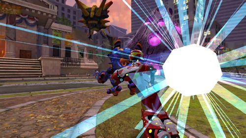 Shooter Playworld: Superhelden auf Deutsch