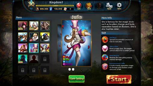RPG Soul of legends für das Smartphone