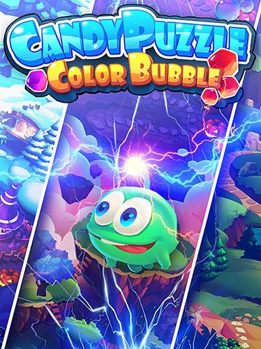 Candy puzzle: Color bubble Screenshot