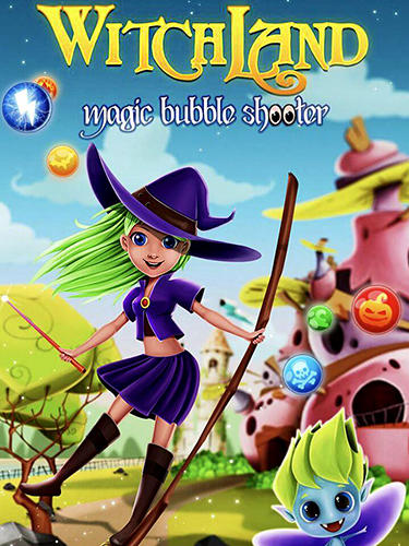 Witchland: Magic bubble shooter captura de tela 1