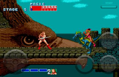 Completely clean version Golden Axe without mods Multiplayer games