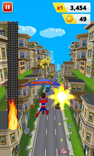 Subway superhero run 2 für Android