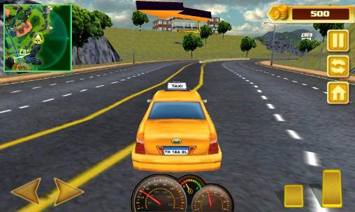 Cab in the city Screenshot