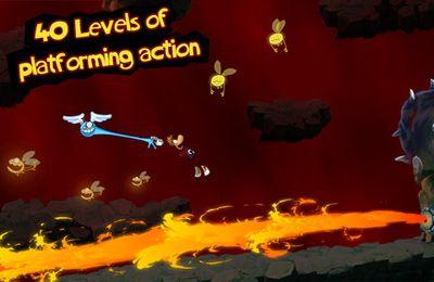 Arcade-Spiele: Lade Rayman: Dschungellauf auf dein Handy herunter