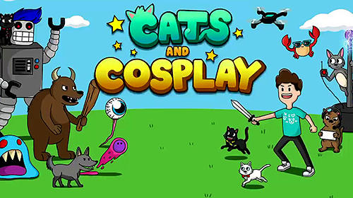 Cats and cosplay: Epic tower defense fighting game скріншот 1