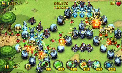 Fieldrunners para Android