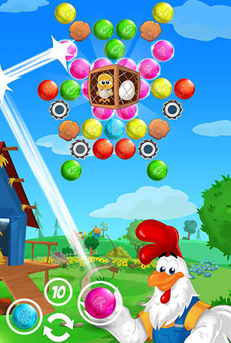 Farm bubbles: Bubble shooter puzzle game pour Android