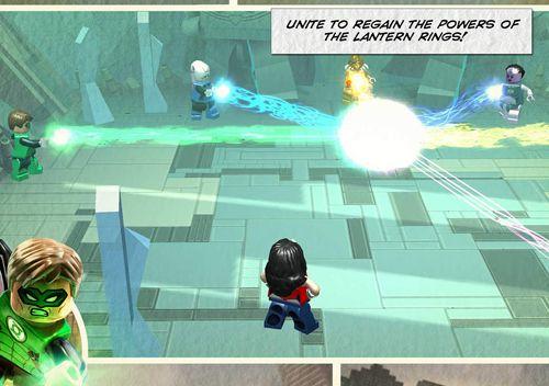 Screenshot LEGO Batman: Beyond Gotham auf dem iPhone