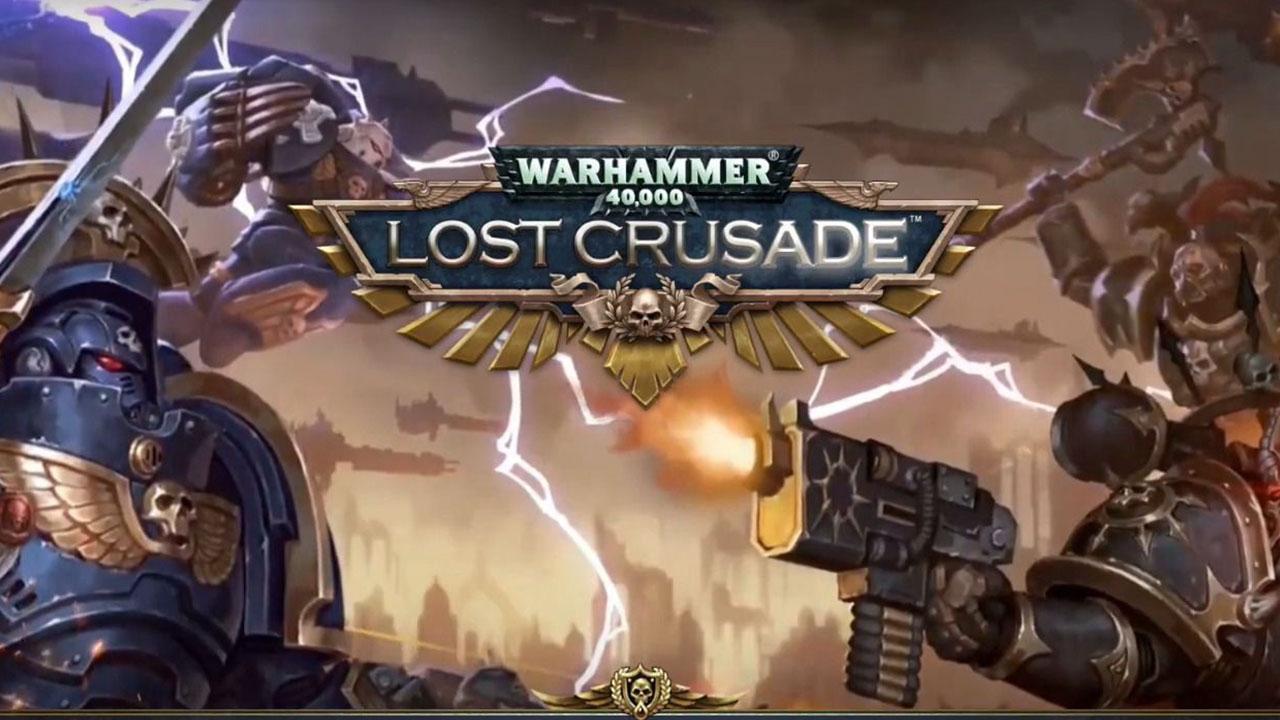Warhammer 40,000: Lost Crusade captura de tela 1