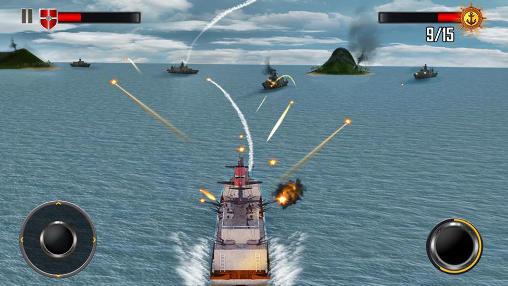 Sea battleship combat 3D für Android