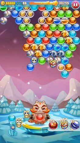 Bubble cat rescue 2 in English