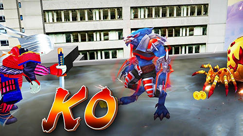 Ninja wolfman: Street fighter para Android