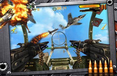Simulator-Spiele: Lade Bomber-Bordschütze auf dein Handy herunter