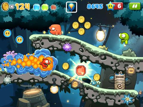 Скріншот Mega Run Plus – Redford's Adventure на iPhone