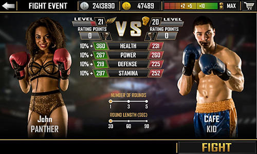 Boxing combat for Android