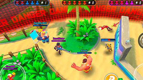 MOBAゲーム Rumble league の日本語版