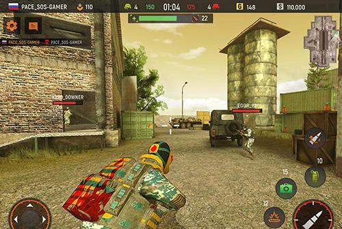 Shooters Striker zone: 3D online shooter auf Deutsch
