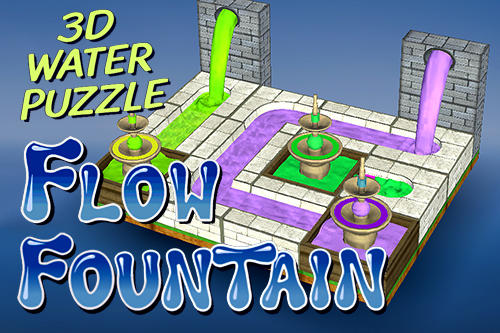 Flow fountain: 3D water puzzle captura de tela 1