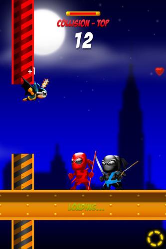 iPhone用ゲーム スーパーバット: ニンジャ ノックアウト のスクリーンショット