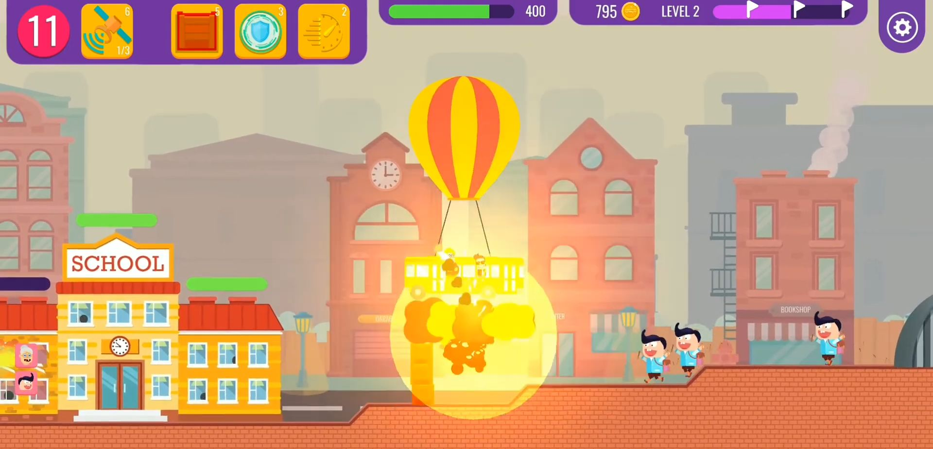 School Raid screenshot 1