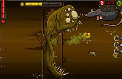 Le poisson Zombie pour iPhone