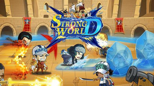 Strong world D icono