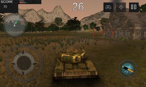 Tank battle 1990: Farm mission Screenshot