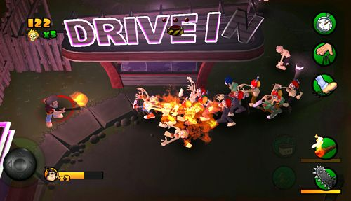 Screenshot Brenn Zombie, Brenn auf dem iPhone