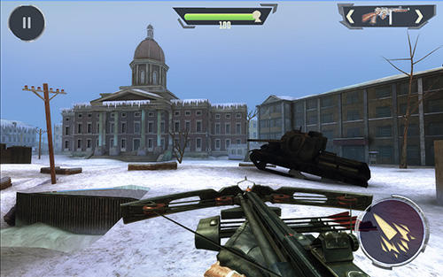 World war 2: Battleground survival winter shooter 2 for Android