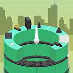 Break the tower: Tower jump Symbol