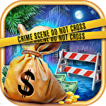 Hidden objects: Crime scene clean up game Symbol