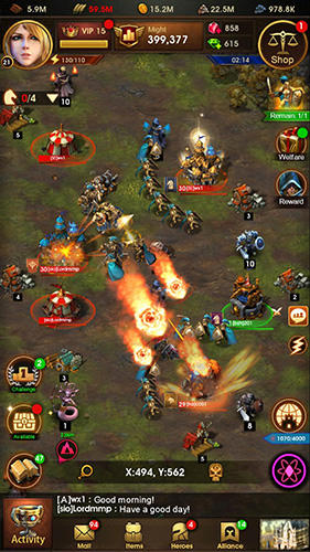 Glory of thrones: War of conquest für Android