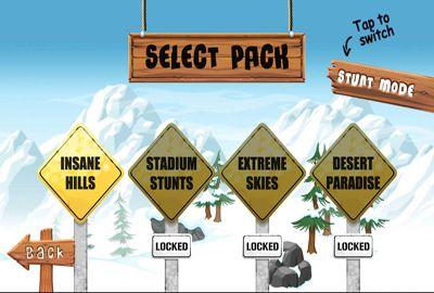 Jogos de esportes: faça o download de iDublê 2 - Snowboard para o seu telefone