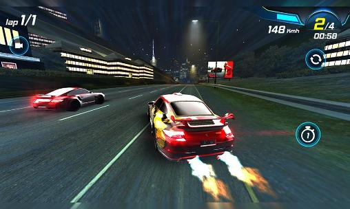 Course Car racing 3D: High on fuel pour smartphone