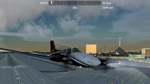 Simulation Flight simulator 2018 flywings für das Smartphone
