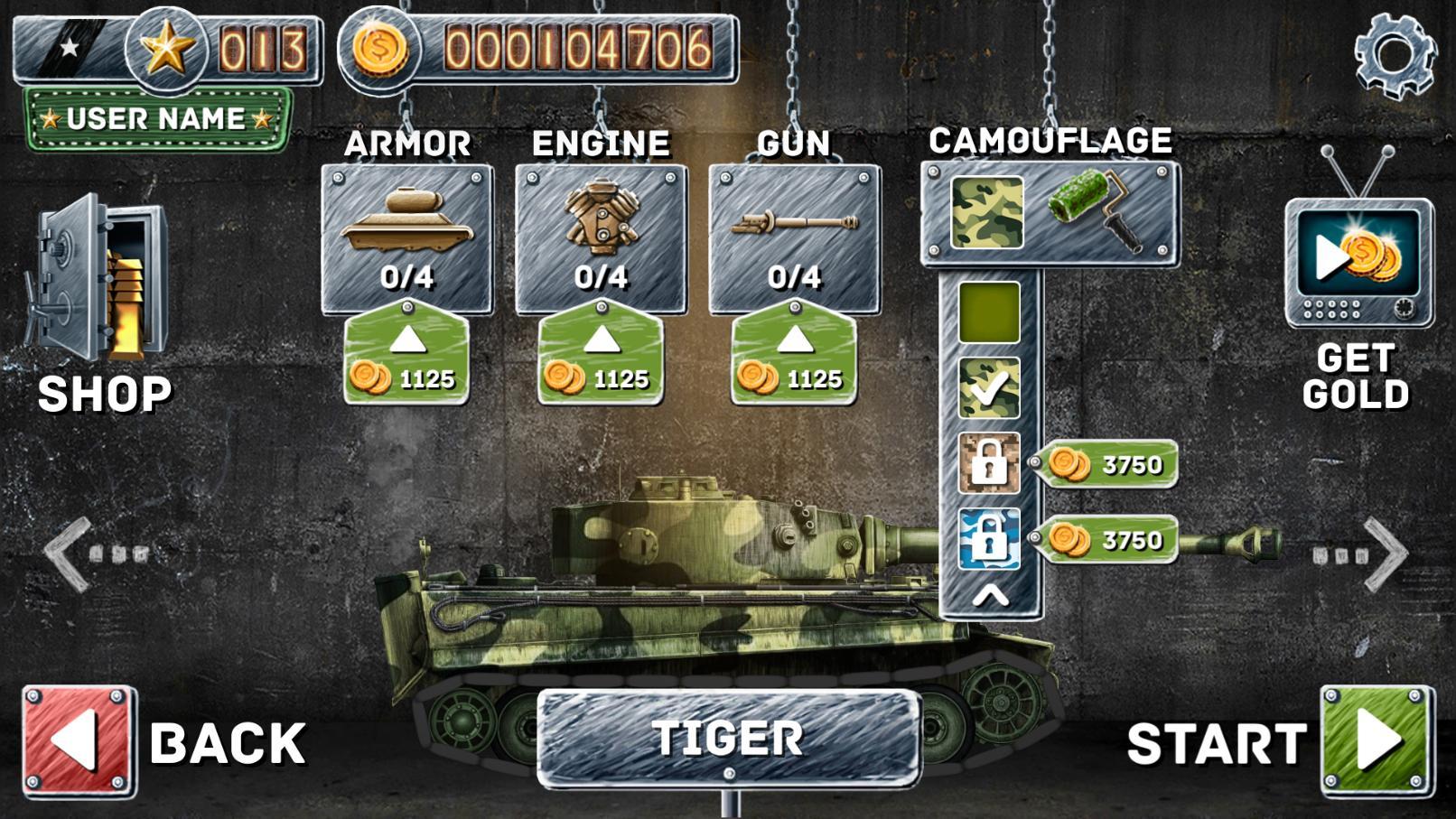 Front Line Hills: Tank Battles スクリーンショット1