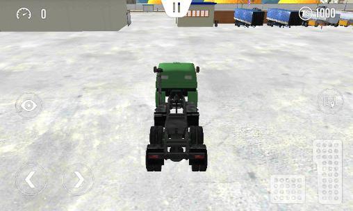 Trucker-Spiele Big truck hero: Truck driver auf Deutsch