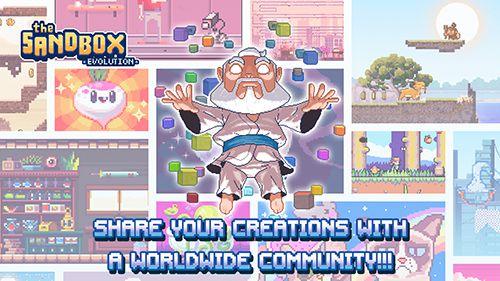 Arcade-Spiele: Lade Die Sandbox: Evolution auf dein Handy herunter