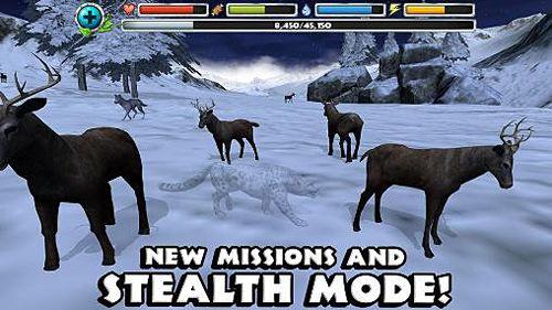 Simulador de leopardo de las nieves para iPhone gratis