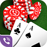 Viber: World poker club icon