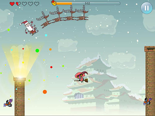 Arcade Santa: Great adventure for smartphone