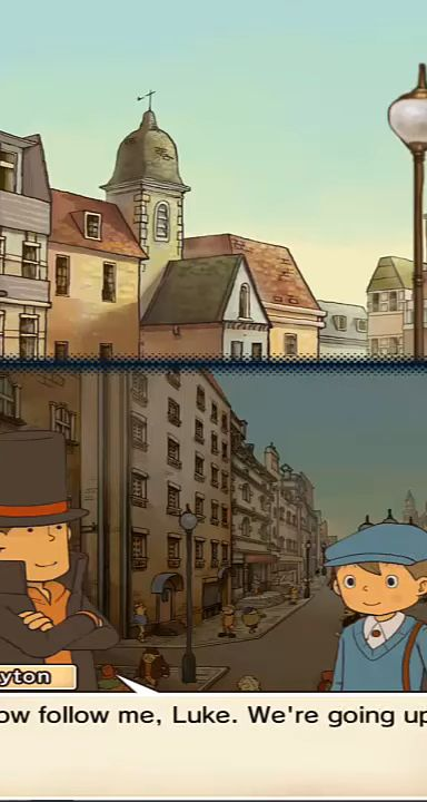 Layton: Pandora's Box in HD capture d'écran 1